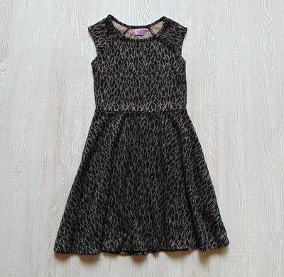 Нарядное платье с золотистым блеском для девочки. F&F. Размер 9-10 лет. Состояние новой вещи
