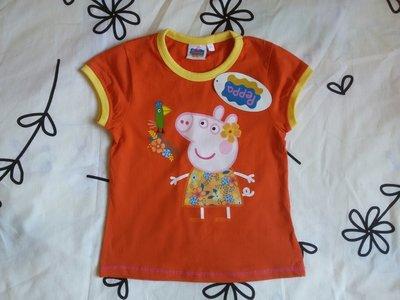 Крутая новая футболка от Peppa Pig на 4-5 лет