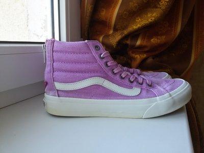 Крутые фиолетовые кеды Vans, размер 36,5