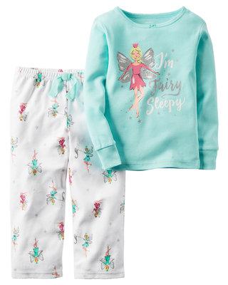 Флисовая пижама Carters Картерс 2Т