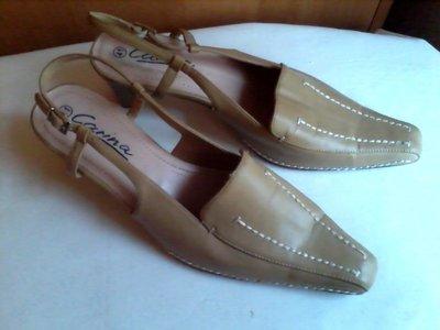Туфли-Босоножки женские бежевые размер 41