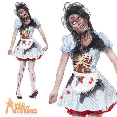 Карнавал Halloween Костюм Зомби Дороти