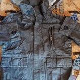 Модная стильная куртка с пропиткой 92-98р сток