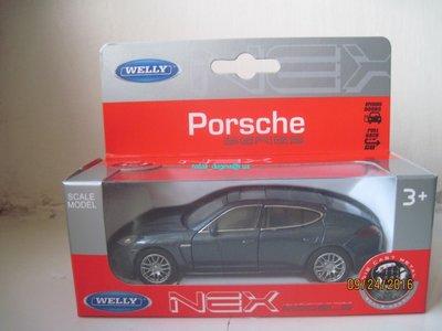 Машинка металл Porsche Panamera S Welly