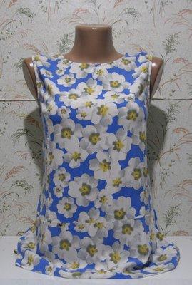 Очень нежный топ блуза с отрезной талией, uk 12