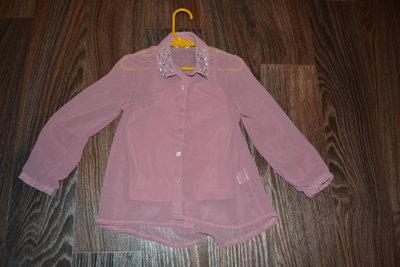 Шифоновая блузка на 4-5 лет