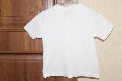 Next Белая футболка для детского сада для физкультуры на 4-5 лет