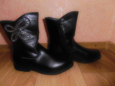 Деми ботиночки натур. кожа наличие все-все размеры 33-37