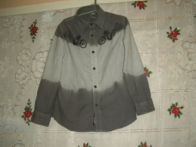 Супер рубашка 8-9лет,100%коттон,Индия-170грн.