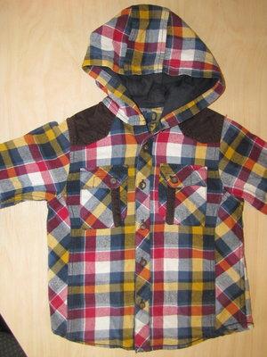 Теплая фланелевая рубашка Matalan 4-5 л