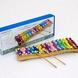 Деревянная игра Ксилофон 0395 дерево музыкальные инструменты
