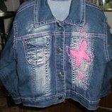 Джинсовая куртка 2,6-3 года