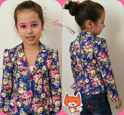 Пиджак детский 2 волана 122-140