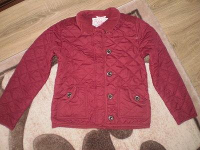 Курточка стеганная 12-13лет