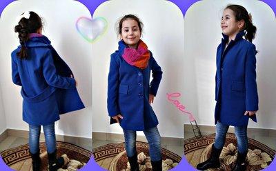 кашемировое пальто на девочку 122-140
