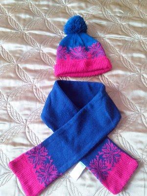 Шапка зимняя и шарф Rebel 2-5лет