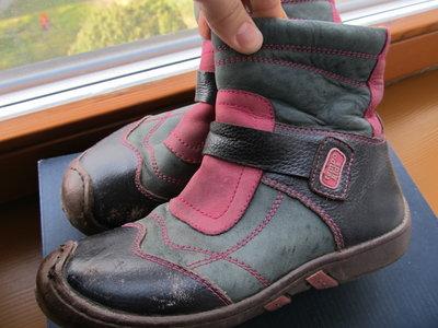 Ботинки деми для девочки 30р ремонт