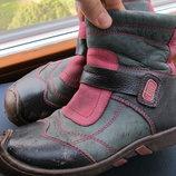 Ботинки деми для девочки 30 размер