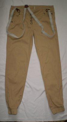 брюки джинсы чиносы с подтяжками 100% котон