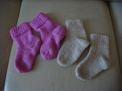 теплые шерстяные носочки