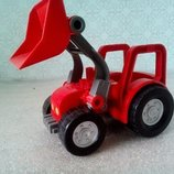 Игрушка, трактор, Lego.