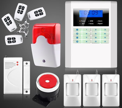 Сигнализация GSM PSTN Security Alarm System B-21