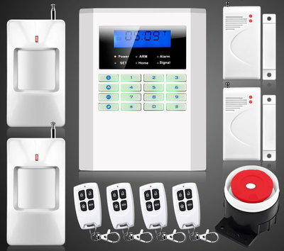 Сигнализация GSM PSTN Security Alarm System B-27