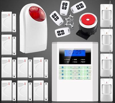 Сигнализация GSM PSTN Security Alarm System B-35