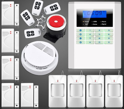 Сигнализация GSM PSTN Security Alarm System B-37