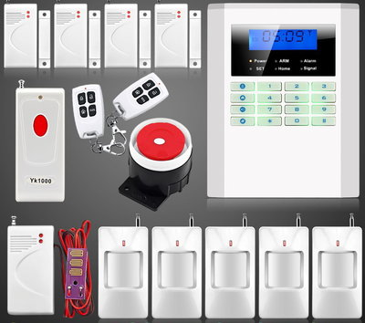 Сигнализация GSM PSTN Security Alarm System B-39