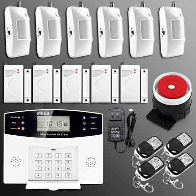 Сигнализация GSM Security Alarm System