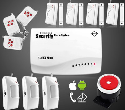 Сигнализация GSM Security Alarm System rus G-19