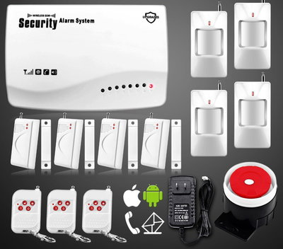 Сигнализация GSM Security Alarm System rus G-25