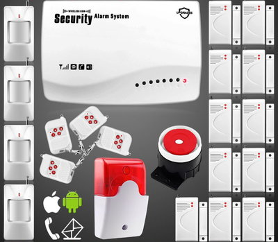 Сигнализация GSM Security Alarm System rus G-30