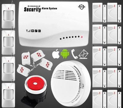 Сигнализация GSM Security Alarm System rus G-33