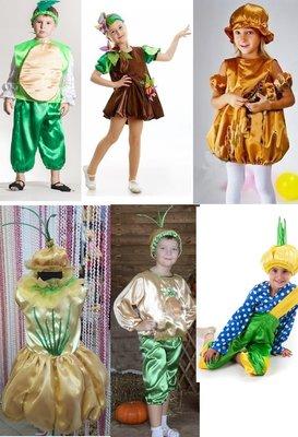 Прокат костюм картопля, картошка, цибуля, луковка, лук, часник, чеснок - Позняки