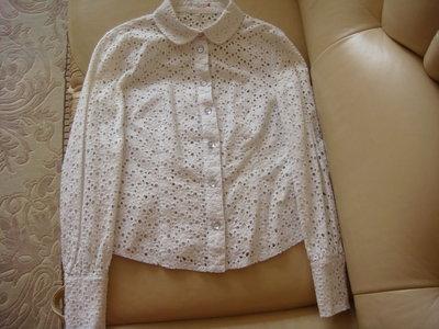 классная хлопковая блуза рубашка Helena, р. 44-46