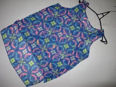 Продано: Стильная и яркая блуза с принтом