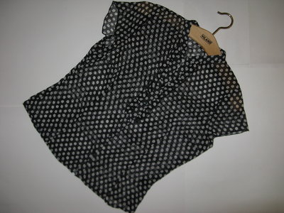 Милая блуза с принтом укорочена Marks&Spencer