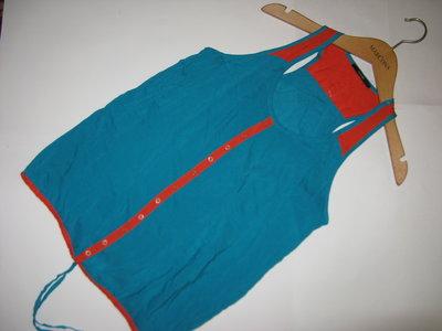 Стильная яркая блуза со всавками george