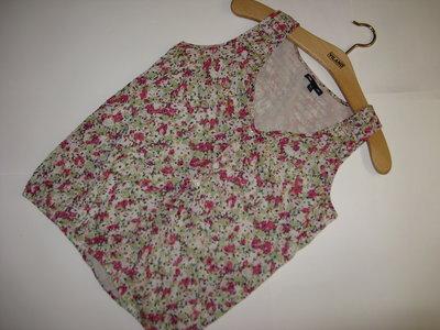 Милая шифоновая блуза цветочный принт cap