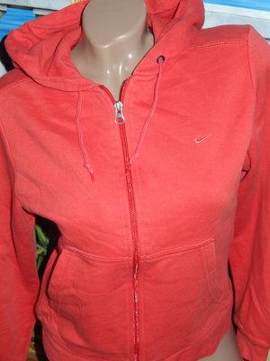 Nike теплая мастерка,р-р S,рост 163 см,на байке,оригинал