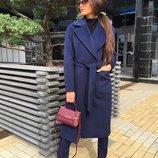 Женское длинное пальто кашемир