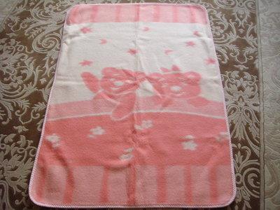 детское шерстяное жаккардовое одеяло пр-во Украина