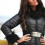 Куртка женская стеганая, в расцветках, в наличии