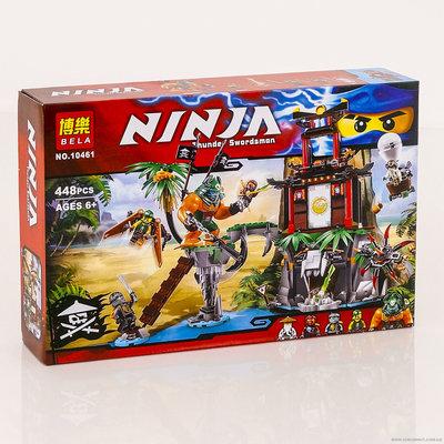 Продано: Конструктор Bela Ninja 10461 аналог Lego Ninjago нинзяго 448 дет