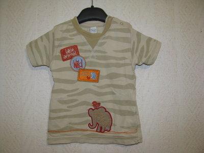 футболка 9-18 мес