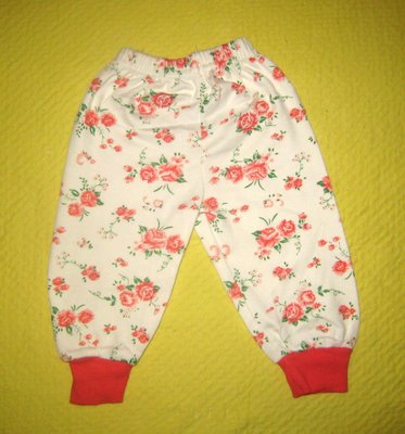 Детские штанишки на девочку 3, 6, 9, 12 месяцев