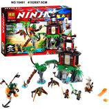 Конструктор Bela Ninja 10461 аналог Lego Ninjago нинзяго 448 дет