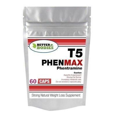 Фентермин для похудения. Убрать аппетит. Быстро похудеть. T5 PhenMax PHENTRAMIN. Пробник.